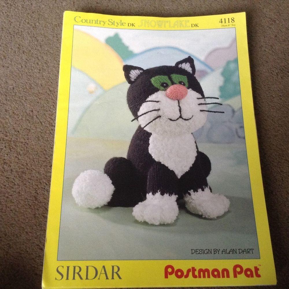 Postman pats cat jess sirdar knitting pattern by alan dart postman pat s cat jess sirdar knitting pattern by alan dart dt1010fo