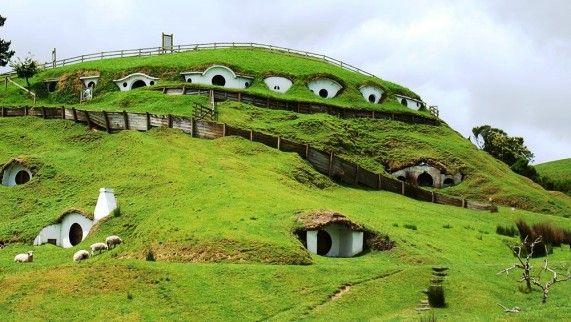 Nueva Zelanda Matamata En El Señor De Los Anillos La Comarca Lugar Donde Viven Los Hobbits Natureza Bela Natureza