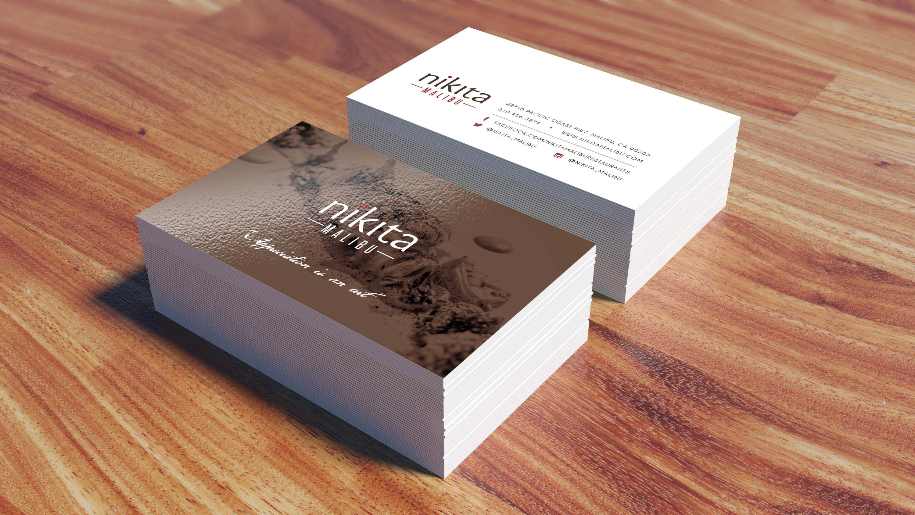los angeles business card printing la same day full color