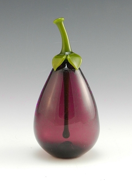 Eggplant Perfume Bottle by Garrett Keisling