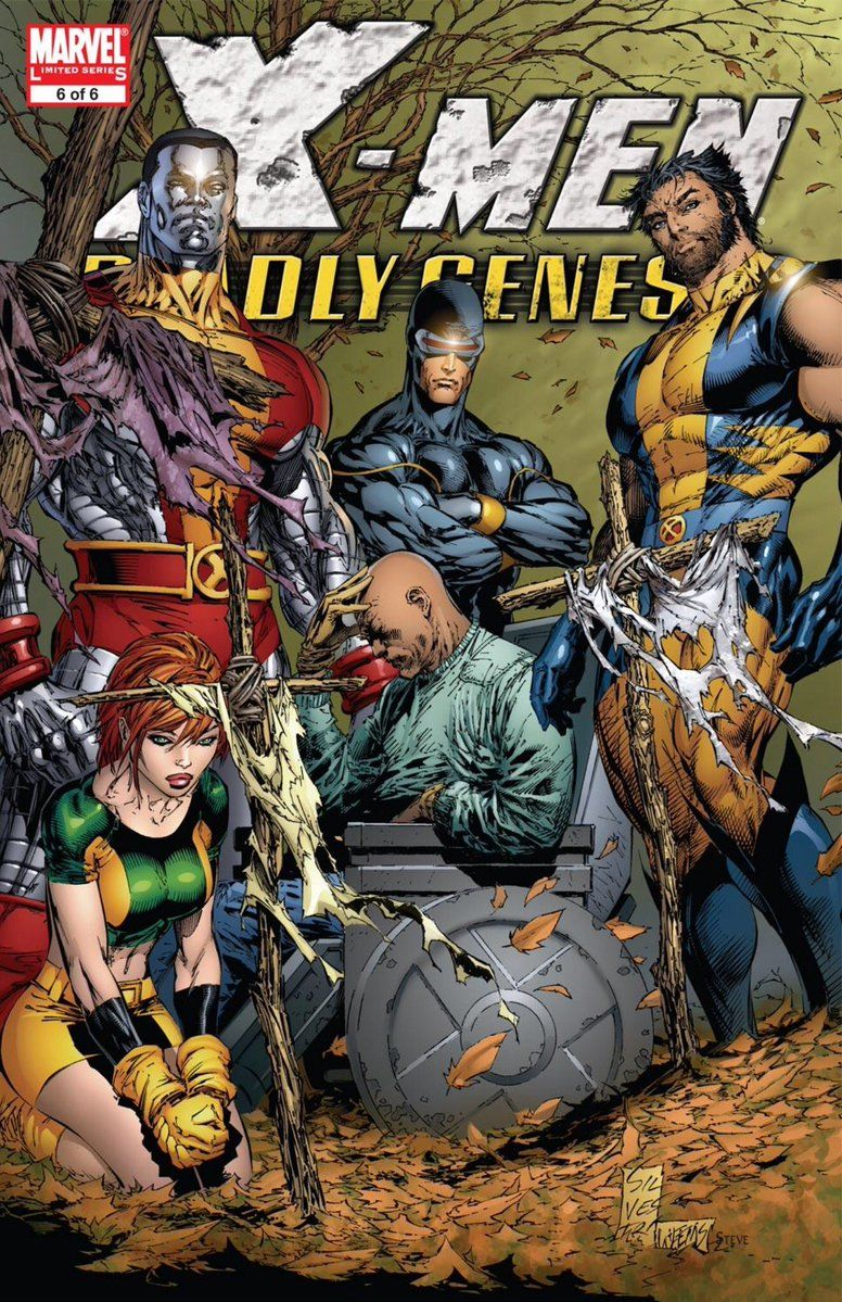 "Cool Comic Art no Twitter: ""X-Men : Deadly Genesis covers by Marc Silvestri @Marc_Silvestri & @JoeWeems5 https://t.co/EkGVaZU4VO"" ."