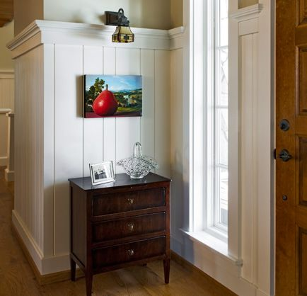 lovely living rooms beadboard | Beadboard with crown moulding. Nantucket | Wainscoting ...