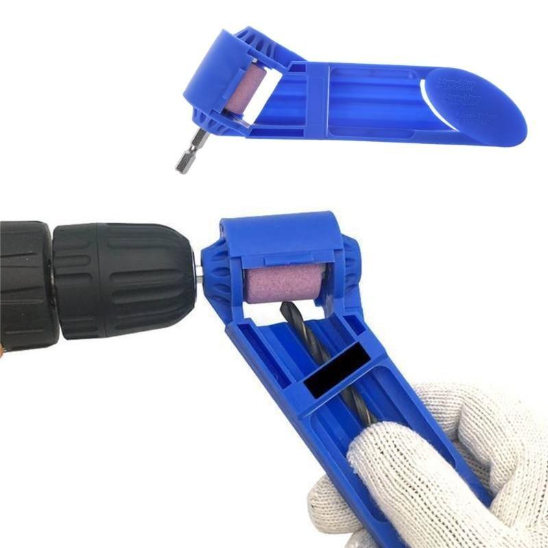 Diamond drill bit sharpening tool drill bit sharpeners