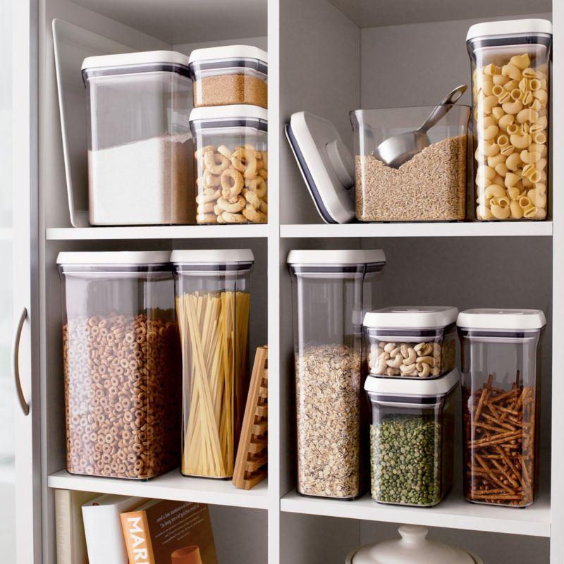 OXO ® 10-Piece Pop Container Set | Glass food storage ...