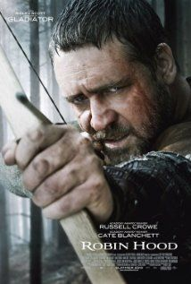 Robin Hood - Crowe did as well with arrows here and he did with a sword in Gladiator!