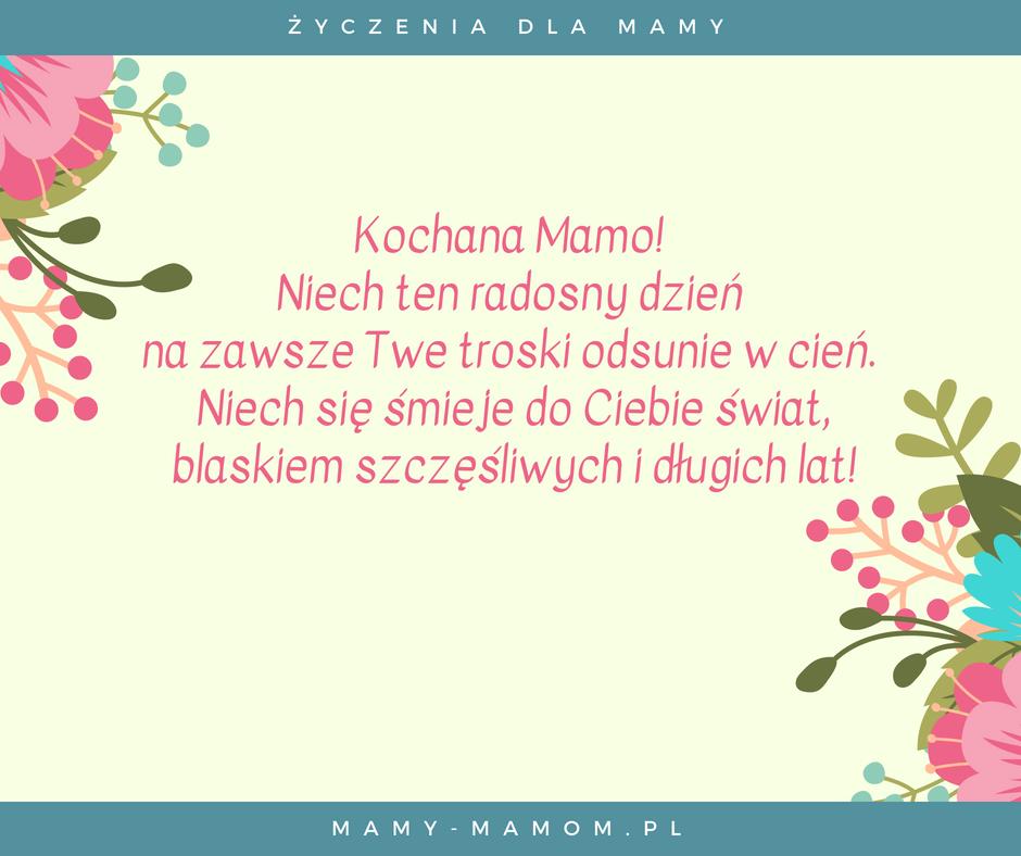 Życzenia dla Mamy - wierszyki na Dzień Mamy | Życzenie, Digi ...