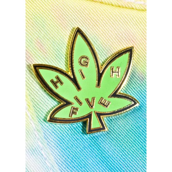 Valley Cruise Press High Five Leaf Pin ($12) liked on ...