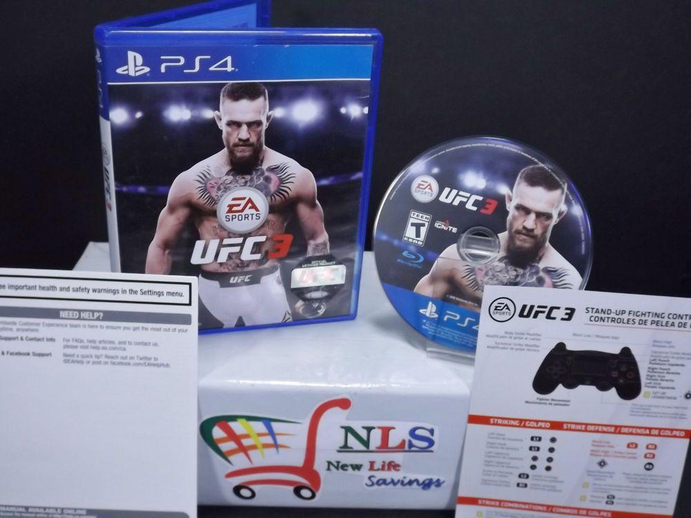 Ps4 Ea Sports Ufc 3 Ps4 Gaming Video Game Sales Ea Sports Ea Sports Ufc