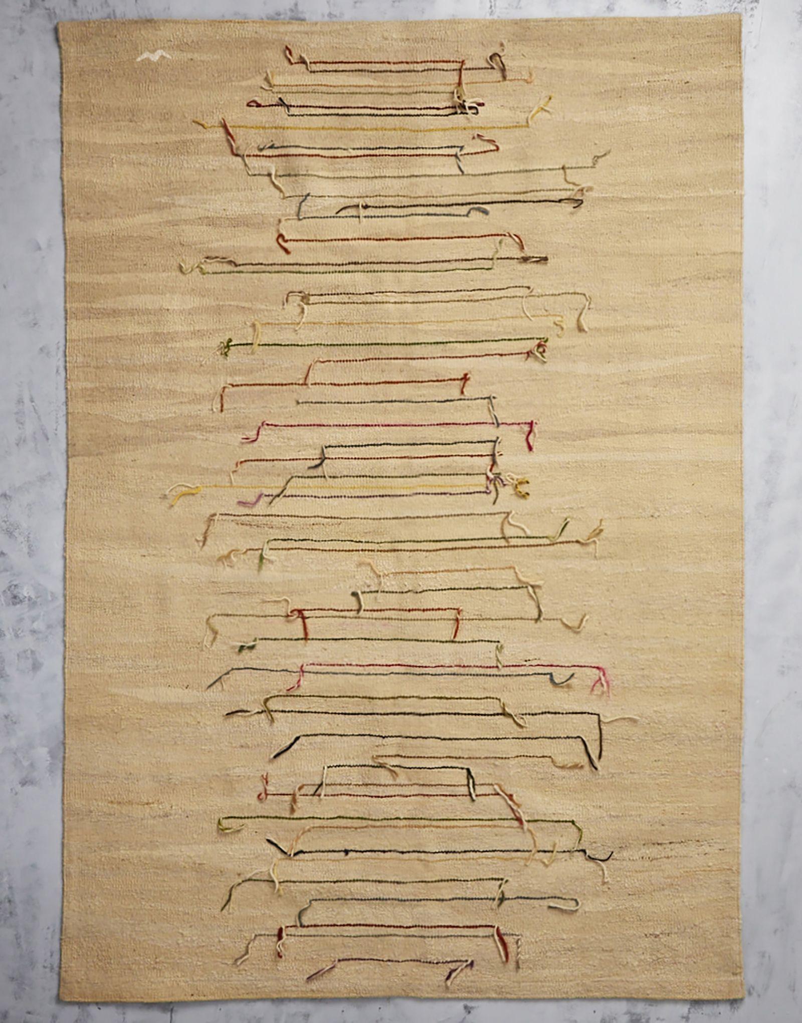 Feride Hand Loomed Wool Floor Rugkilim
