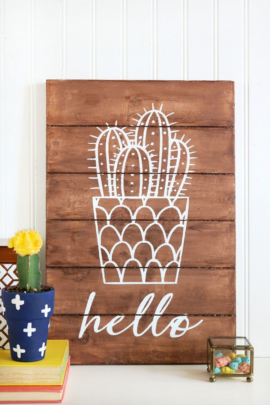 Easy DIY Cactus Crafts to Make, Sell, and Share #cactuscraft