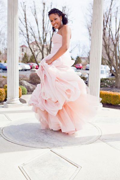 Philadelphia Wedding With a Gorgeous Blush Wedding Gown