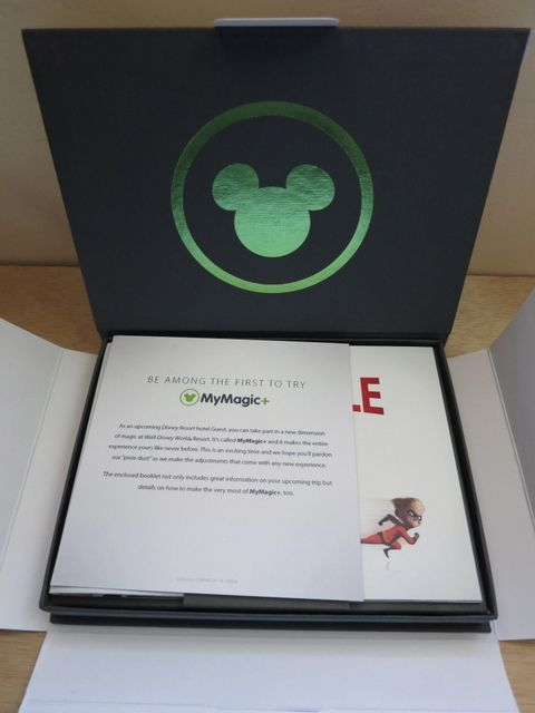 Disney PreExperience Package  There Are Some Great Design Ideas