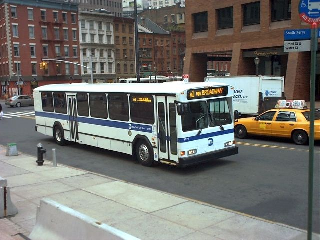 Nyc Mta Orion With Images Bus Retro Bus Nyc