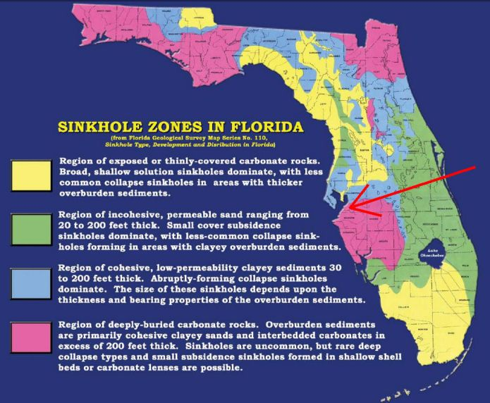 Fl Sinkhole Map Whether Residents In Our Community Need