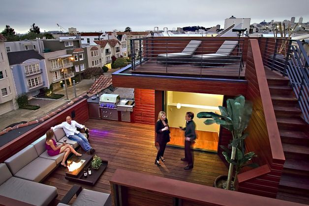 Peek S S F Roof Deck A Twist On Italian Terraces