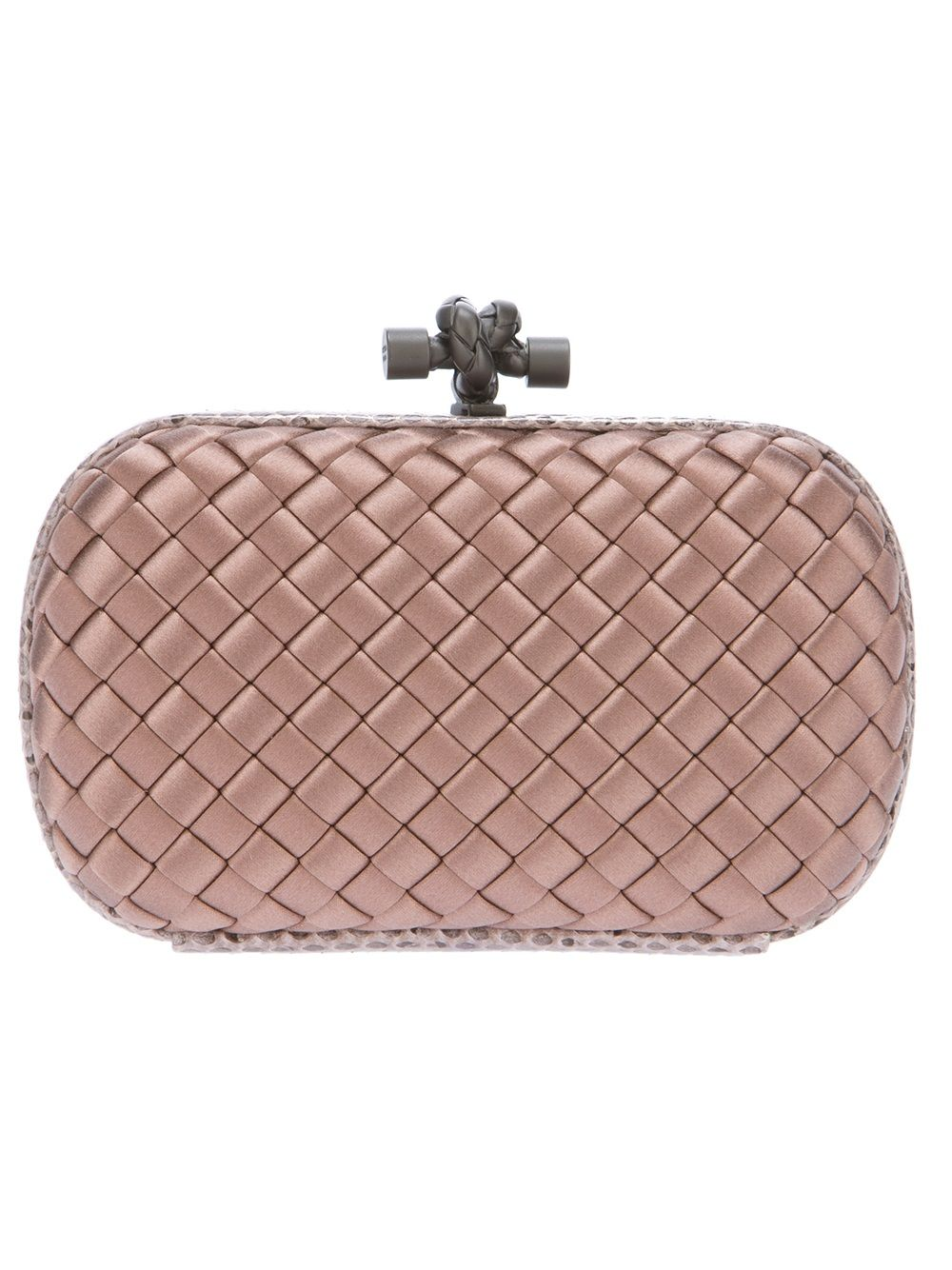 9f508405c0 Woven Box Clutch by Bottega Veneta  GenteRoma