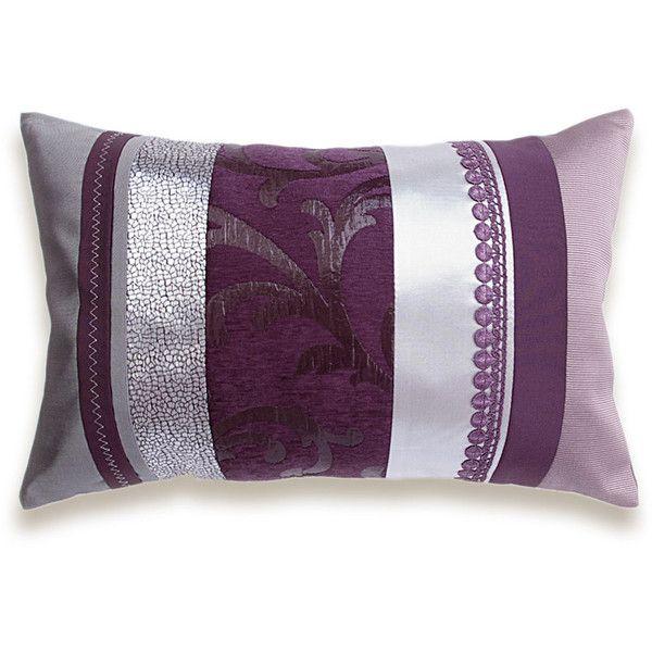 Purple Silver Mauve Gray Eggplant Violet Plum Ash Pink Dusty Lilac New Eggplant Decorative Pillows