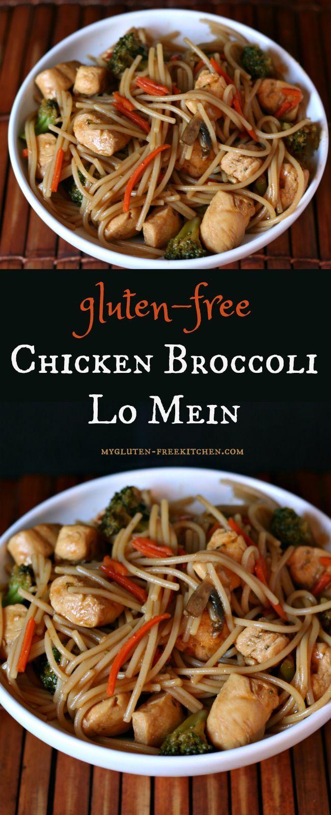 Gluten free chicken broccoli lo mein recipe chinesefoodrecipes gluten free chicken broccoli lo mein recipe chinesefoodrecipes chinese food recipes pinterest gluten free chicken free chickens and lo mein forumfinder Images