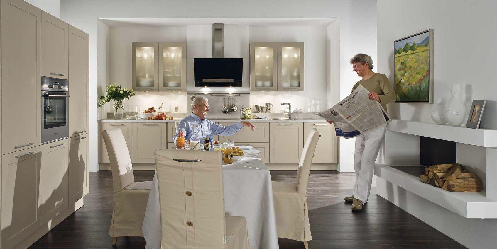 Landhaus-Stil Küche LOTUS von Häcker bei #Hoeffner http://www ...
