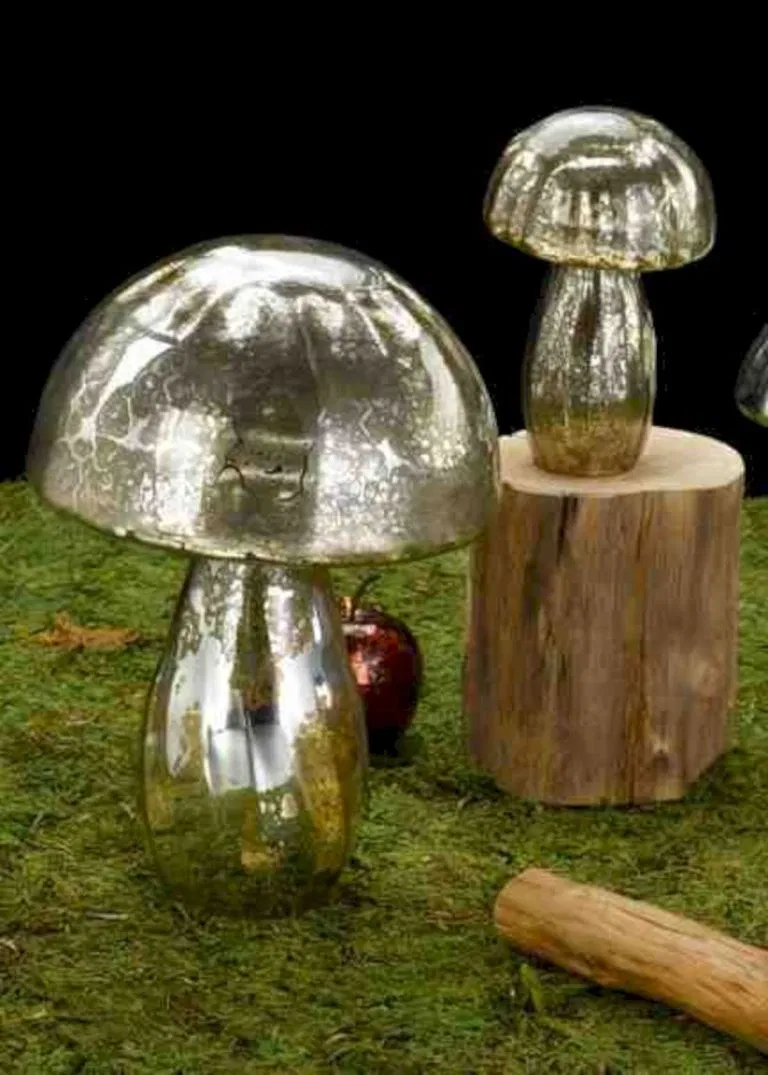 Pin By Lila Rose Opp On Fairy House And More In 2020 Glass Garden Art Mushroom Design Garden Mushrooms