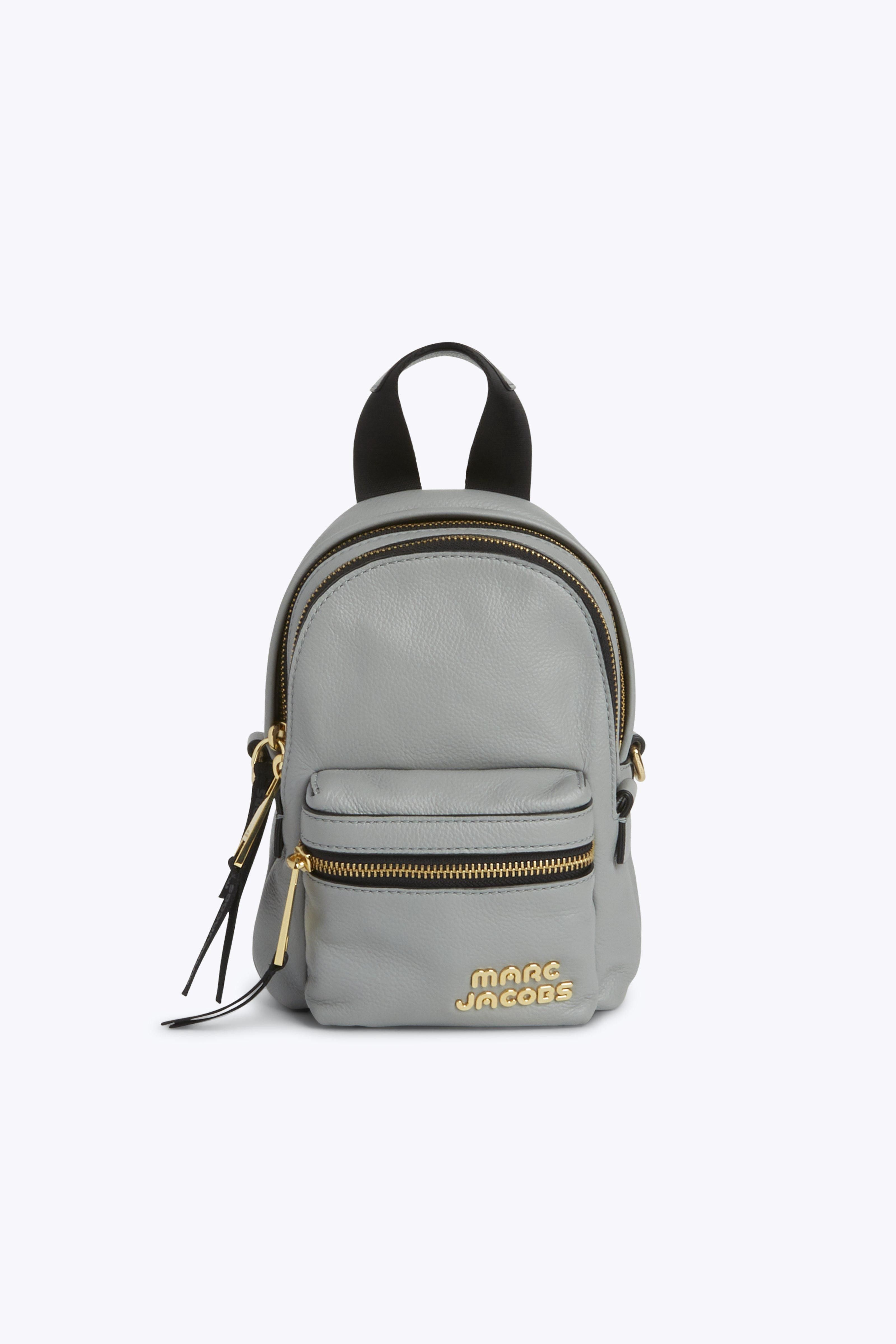 106b82f0ca50 Marc Jacobs Trek Pack Leather Mini Backpack - Griffin