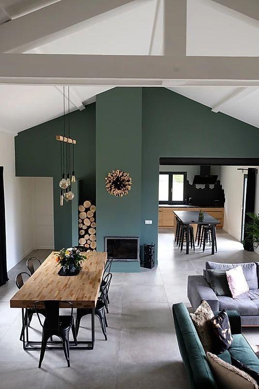 Parete Verde Idee Arredamento Soggiorno Arredamento Soggiorno Progettazione Interni Casa
