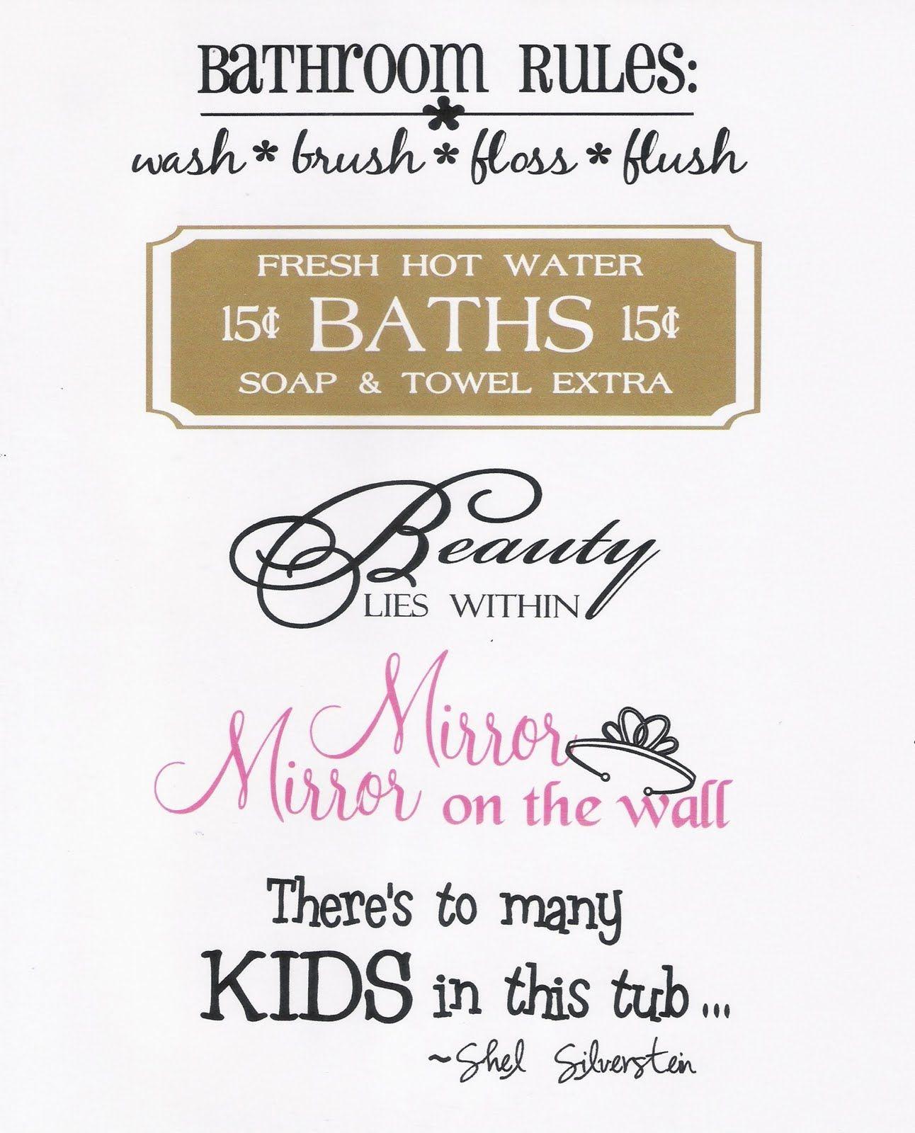 Splish Splash Bathroom Sayings Bathroom Quotes Vinyl Quotes