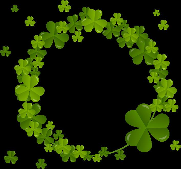 Shamrock Clover Plant Flora Ireland Free Clipart Hq Free Clip Art Flower Background Wallpaper Clover Plant