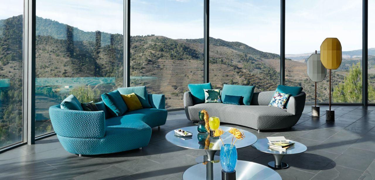 Roche Bobois Digital Large Round 3 Seat Sofa Design By Gabriele