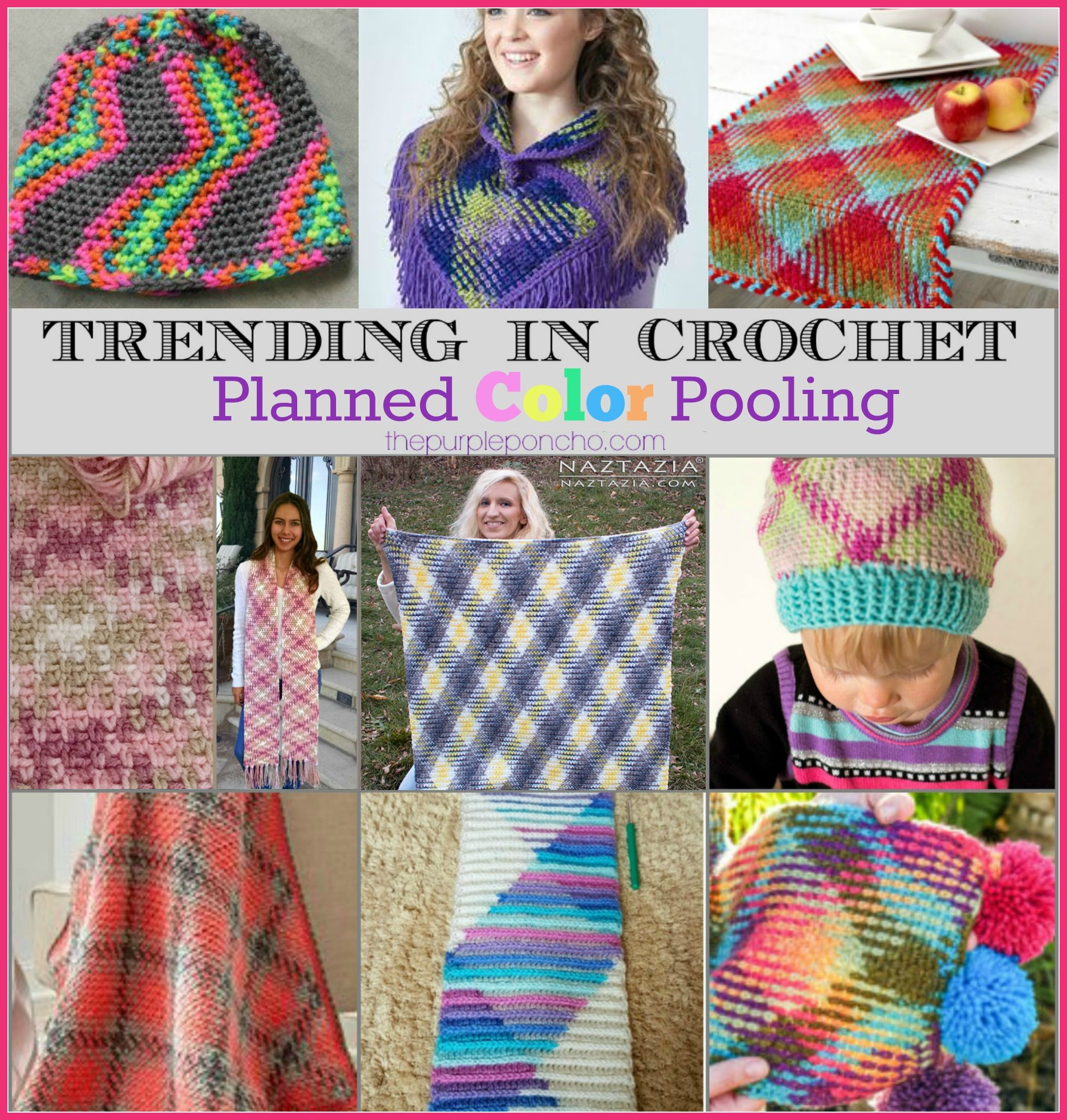 Trending In Crochet – Planned Color Pooling! on The Purple Poncho ...