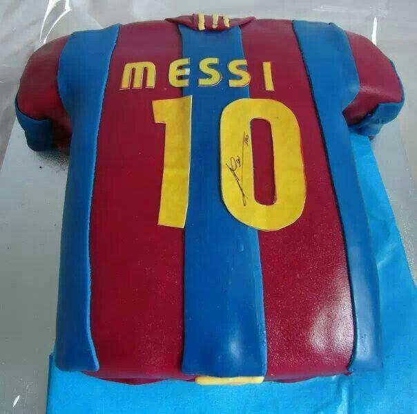 Messi Cake Bosslady Cakery Pinterest