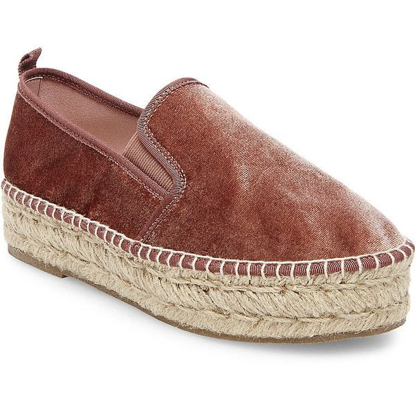 882579d3e57 Steve Madden Phoebe-V Slip On Sneakers ( 80) ❤ liked on Polyvore featuring  shoes