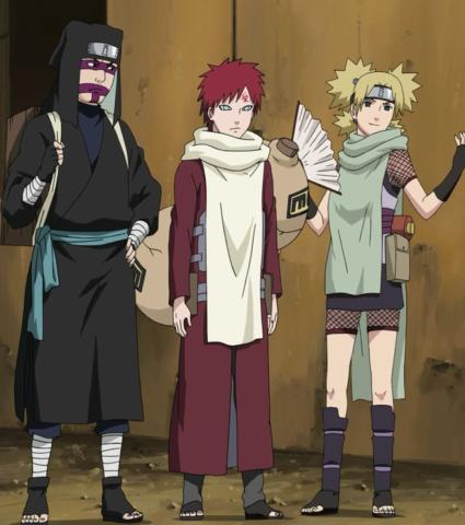 Temari Naruto gaara, Personajes de naruto y Gaara