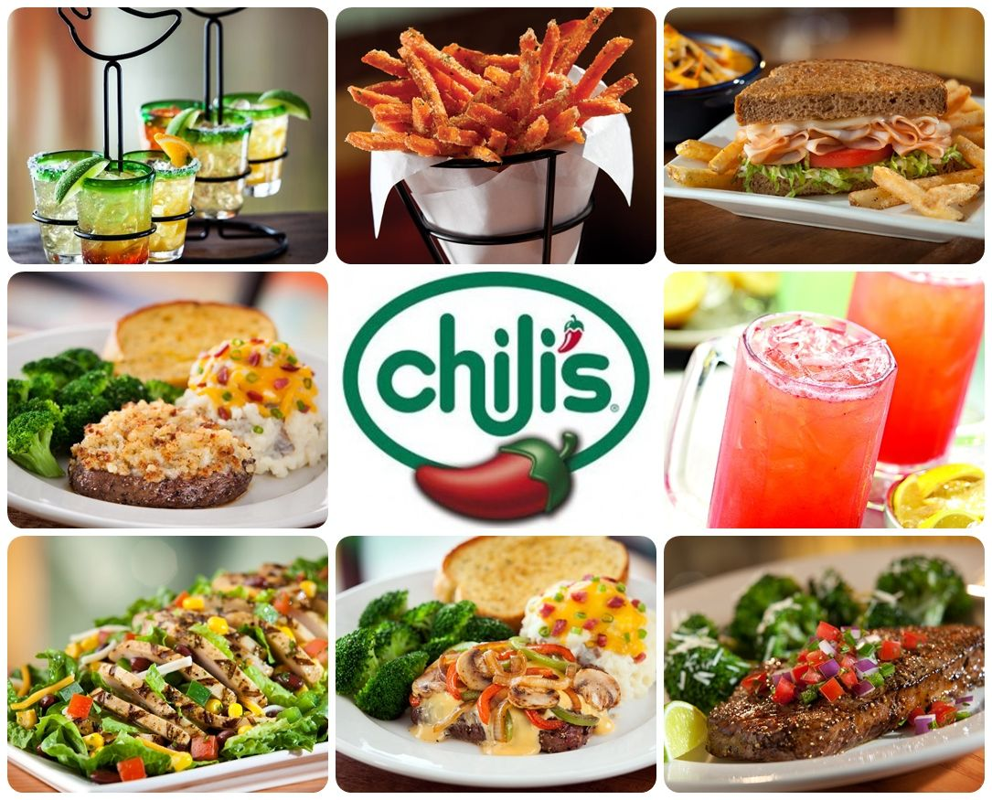 Chilis Grill Bar Restaurant Food Coupon DealsChili SDelicious