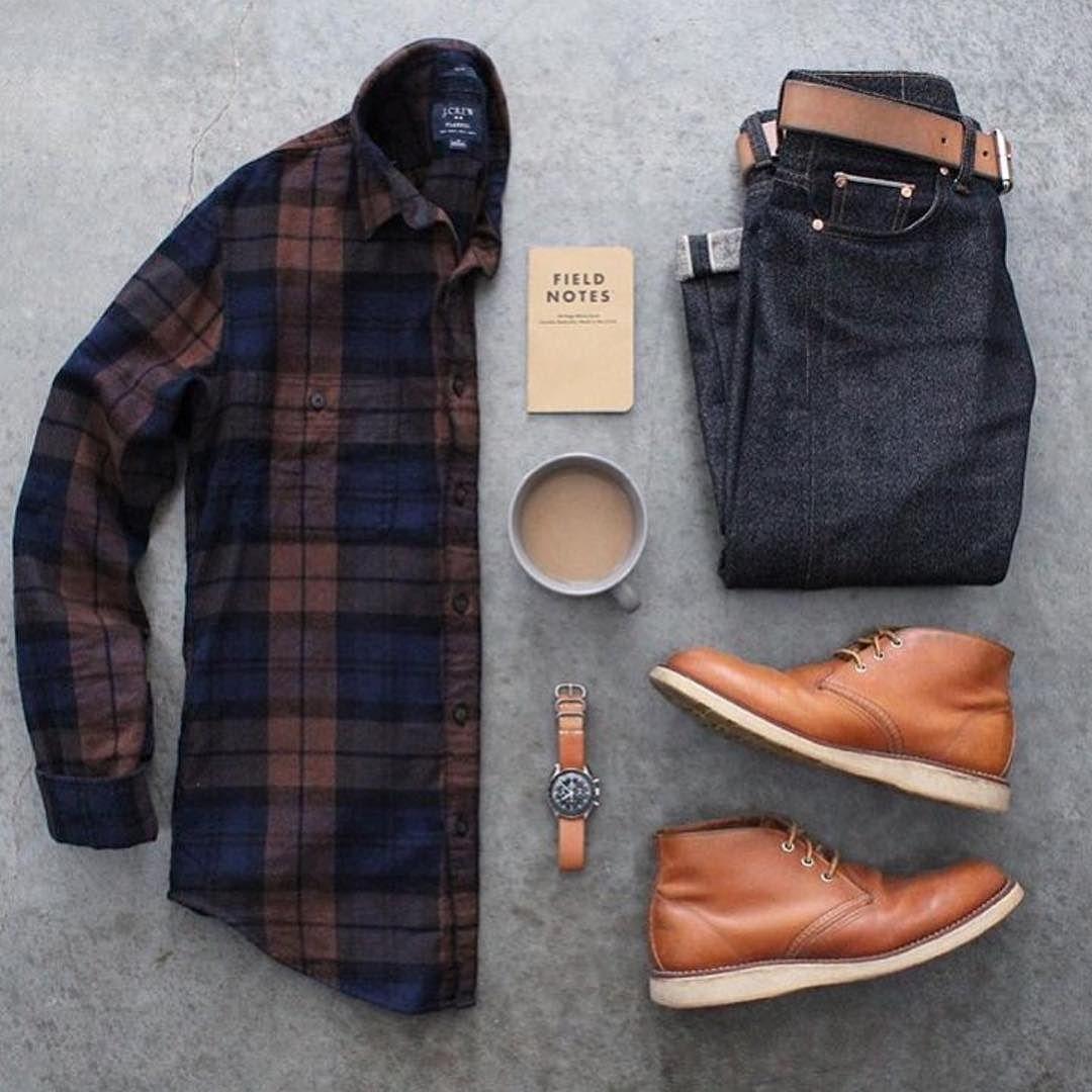 Outfit grid - Autumn colours