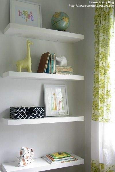 Ideas For Decorating Floating Shelves In Nursery Floating Shelves Nursery Shelves Bathroom Decor Apartment