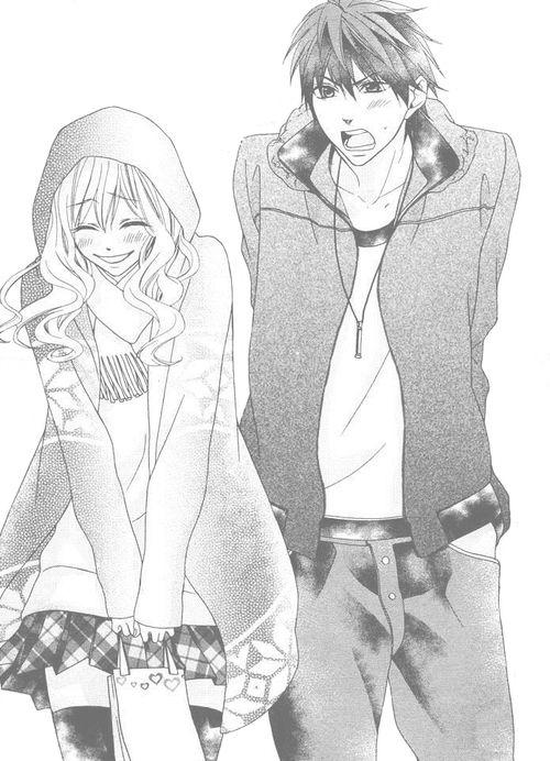 Couple kawaii manga pinterest manga manga amour et anime - Dessin manga couple ...