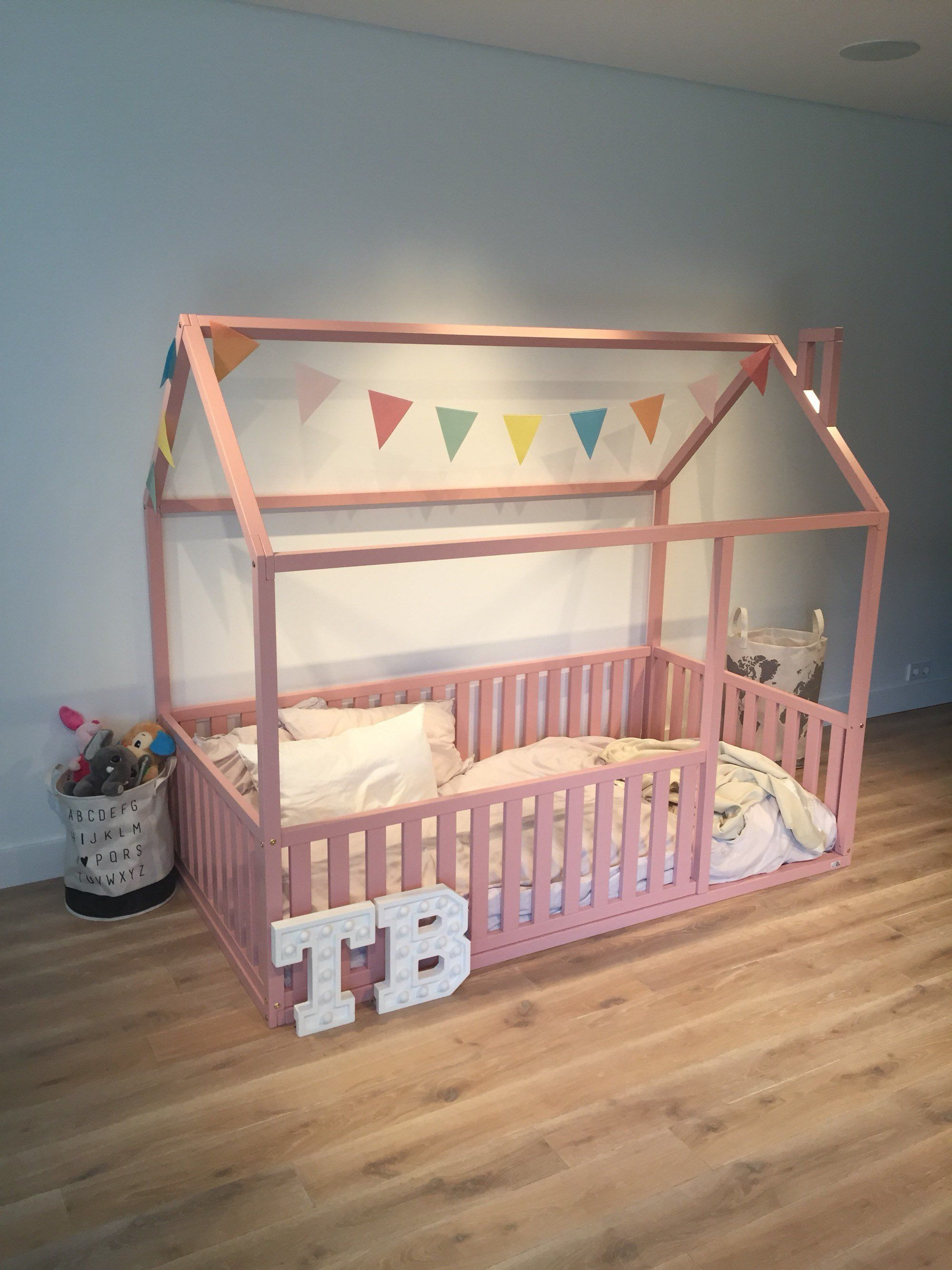 Pink Toddler Bed Full Double Size Children Bed House Frame Bed