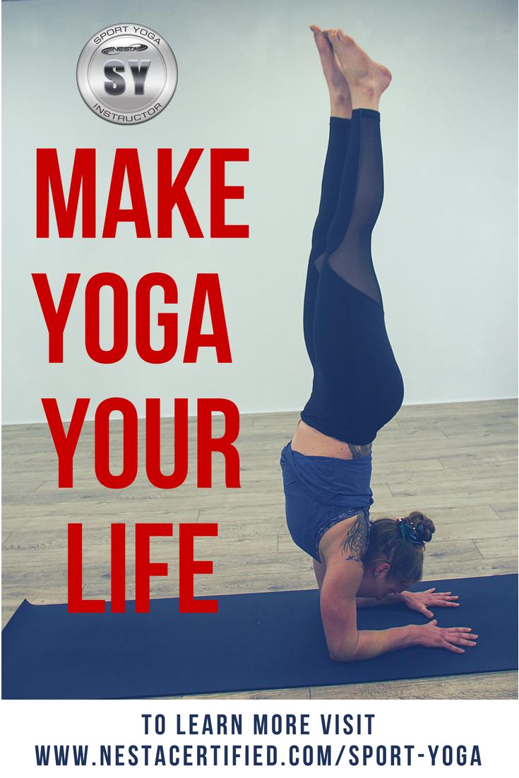 Online Yoga Certification Sport Yoga Instructor Career