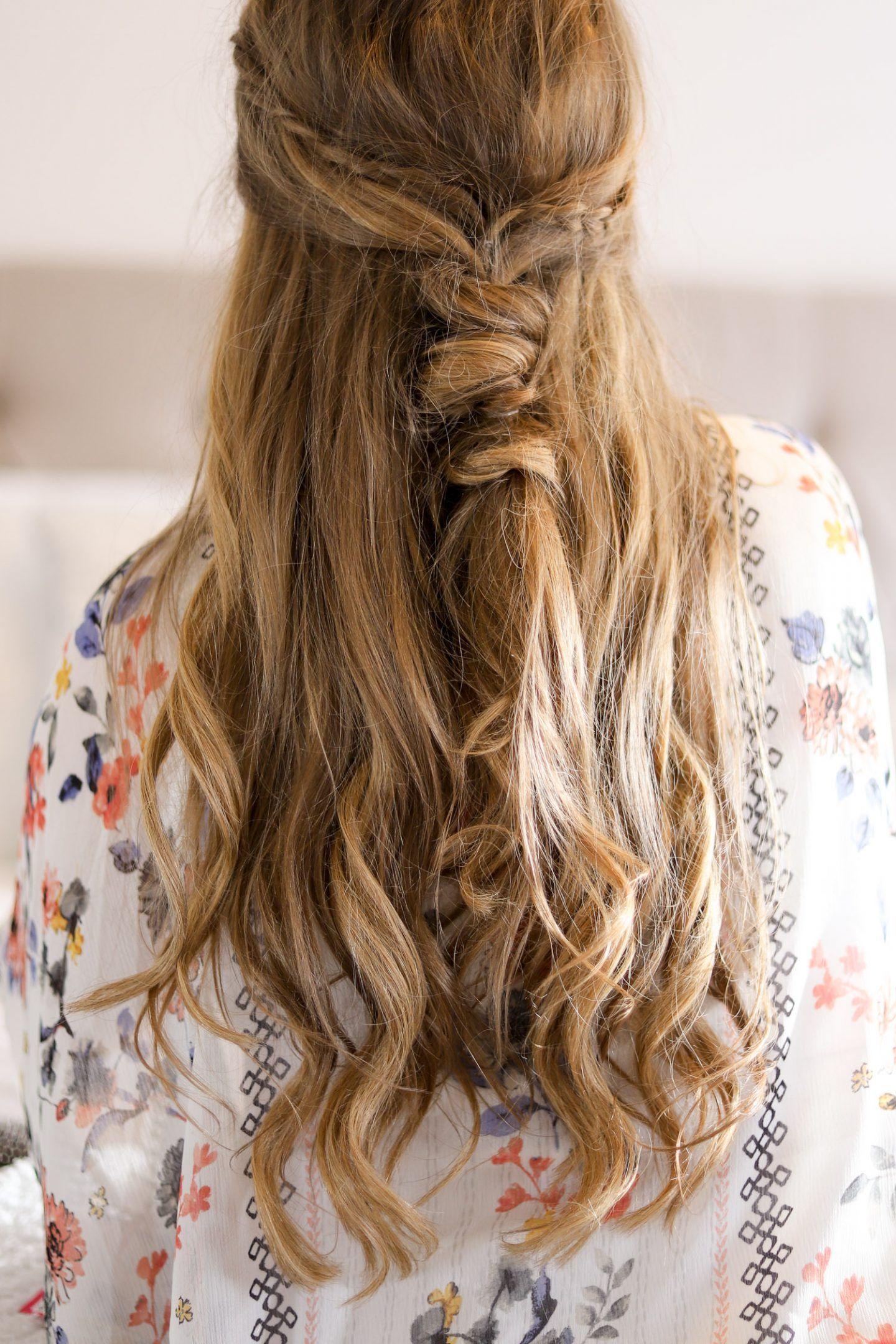 Easy Cute Boho Hair Tutorial