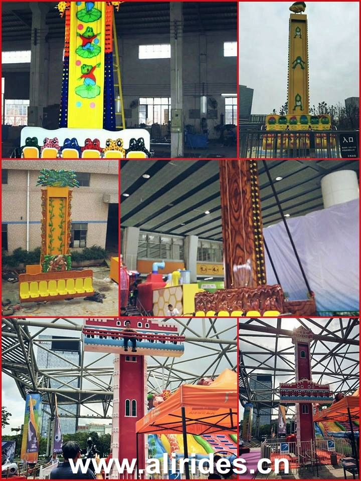 Amusement park rides alibaba equipment attraction jumping