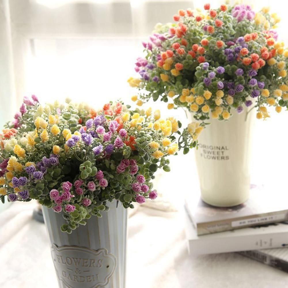 Artificial Flowers Cheap Fake Flowers Home Decoration Artificial