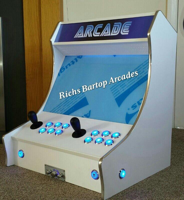 Bartop Arcade 2 Player!!!!! #Hyperspin#mame #jamma ...