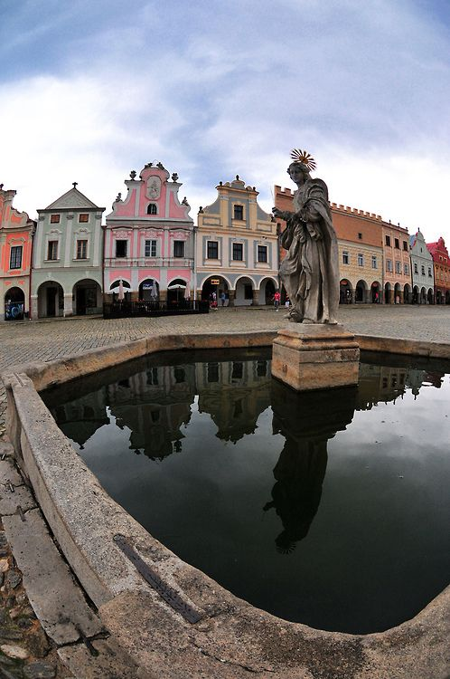 Telč, Czech Republic (by Karel Hrouzek Photo)