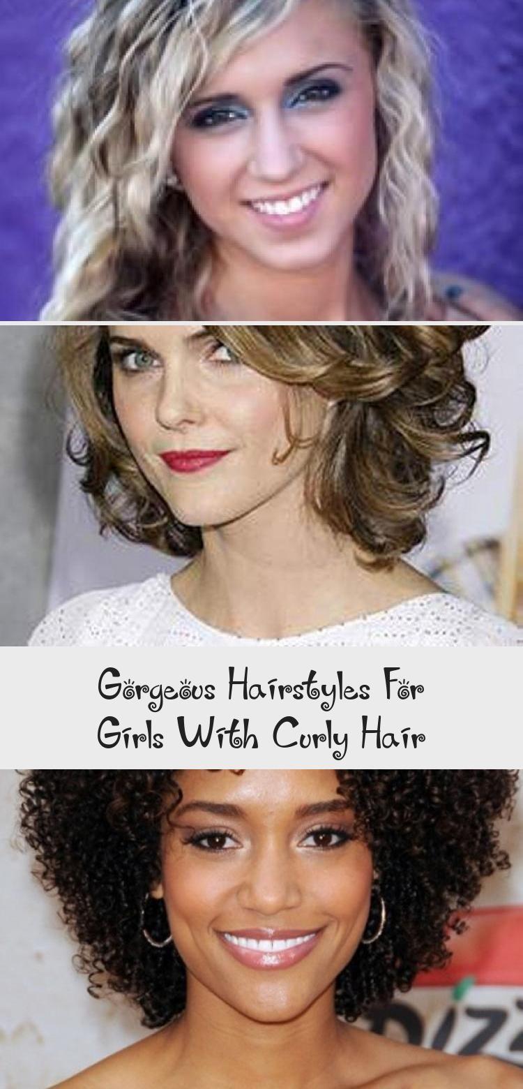 Wunderschöne Frisuren für Mädchen mit lockigem Haar – Lina's Blog