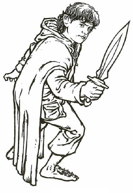 10 Best Free Printable Lord Of The Rings Coloring Pages Online ...