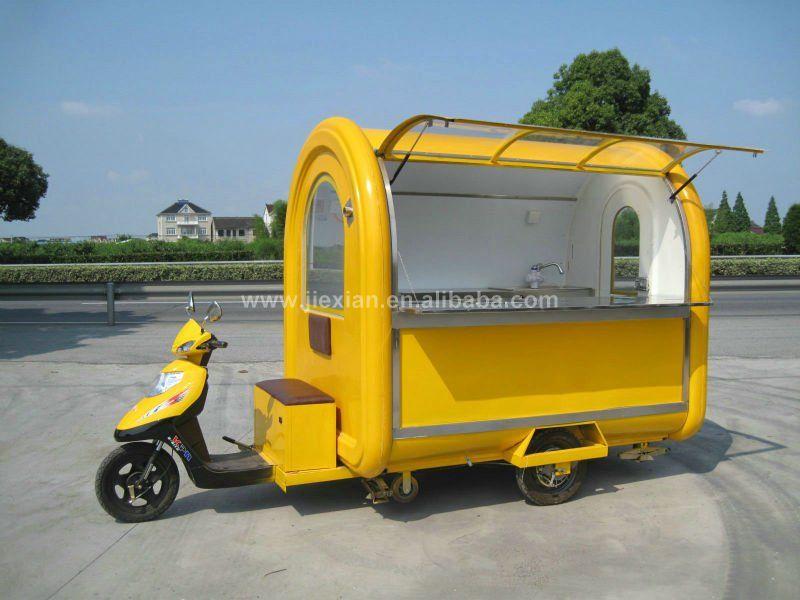 New Listing Electromobile Street Coffee Kiosk | bickes