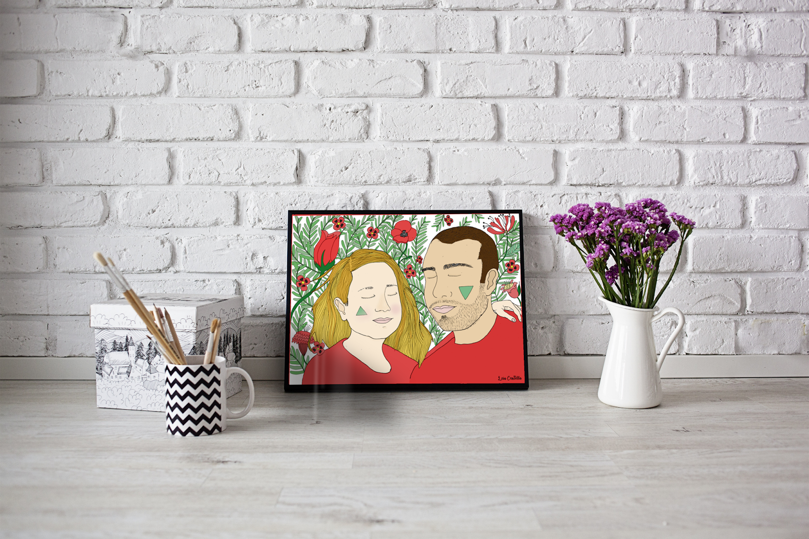 Leia Centella Illustration: Láminas Centella personalizadas para decorar tu es...