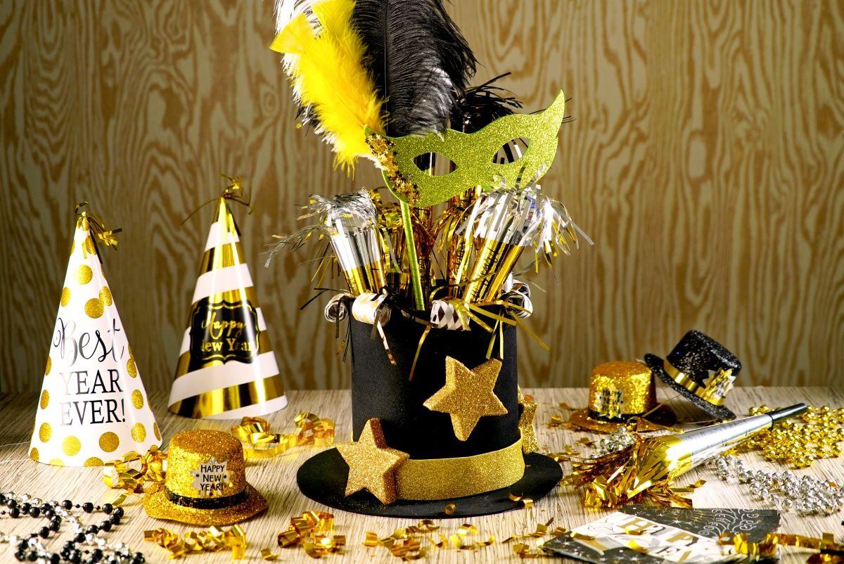 Centro de Mesa para Año Nuevo