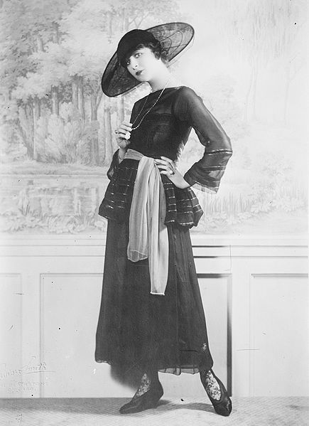 Fashionable Fanny Brice    1922